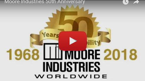 Moore Industries 50th Anniversary