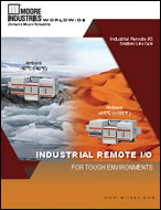 Industrial Remote IO Solutions Line Card Moore Industries Cover