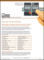 Alarm Trips The Ups and Downs White Paper Moore Industries Cover