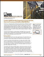 Custom WORM Flexible Temperature Sensor Solution White Paper Moore Industries Cover
