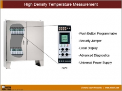 High Density Temperature Measurement