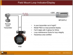 Field Mount Loop Indicator/Display