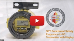 SFY Functional Safety Frequency-to-DC Transmitter
