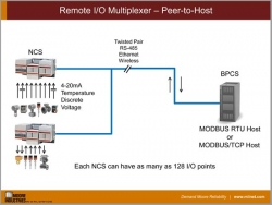 Remote I/O Multiplexer - Peer-to-Host