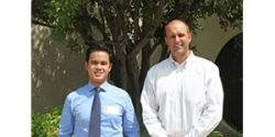Winner of Moore Industries-Sponsored Cal-Poly Pomona Scholarship Visits Headquarters