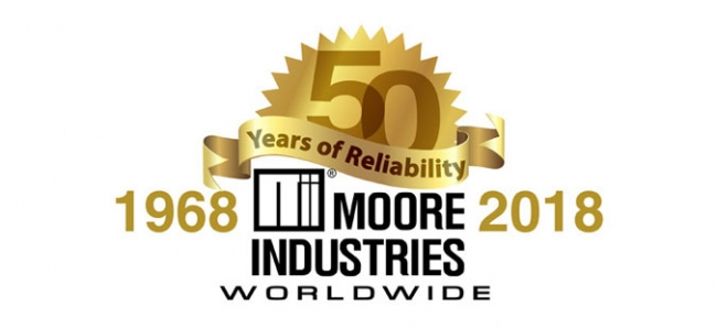 Moore Industries Celebrates 50 Years of Business