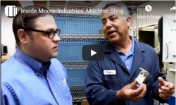 Inside the Machine Shop at Moore Industries