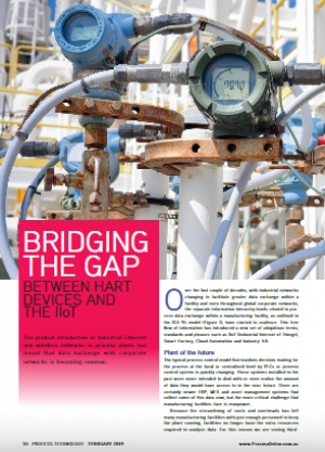 Bridging the Gap Between HART Devices and the IIoT, Process Technology